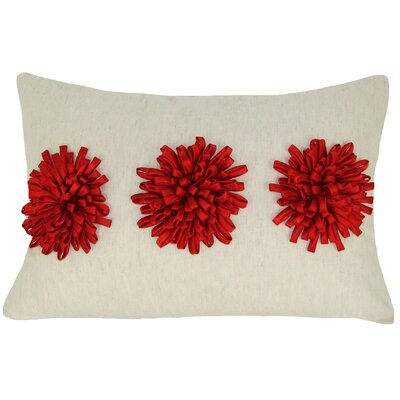 Staunton Rectangular 100% Cotton Throw Pillow Color: Red