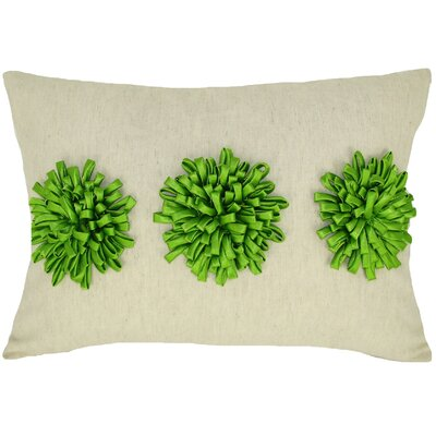 Reddick 100% Cotton Lumbar Pillow Color: Green