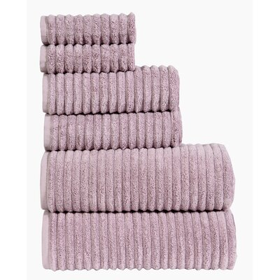 Shevchenko Place 6 Piece Towel Set Color: Eggplant