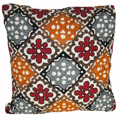 All Over Rusty Throw Pillow
