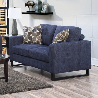 BRSD2295 25715271 BRSD2295 Brayden Studio Ballie 3 Piece Loveseat & Pillow Set
