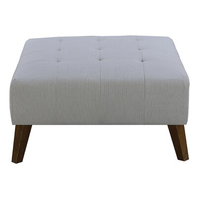Burlington Ottoman Upholstery: Cement