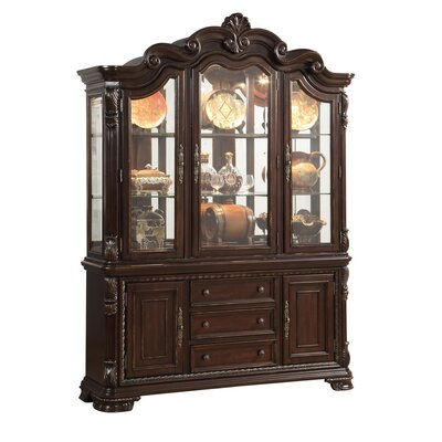 Esplanade Lighted China Cabinet