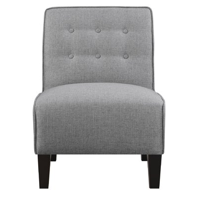 Borunda Slipper Chair Upholstery: Gray