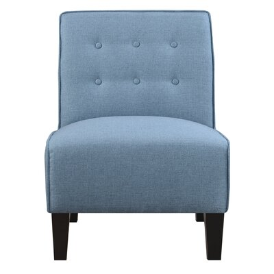 Borunda Slipper Chair Upholstery: Teal