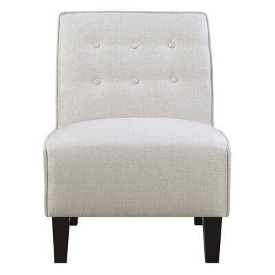 Veitch Slipper Chair Upholstery: Cream