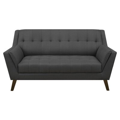 Fairfield Standard Loveseat Upholstery: Charcoal