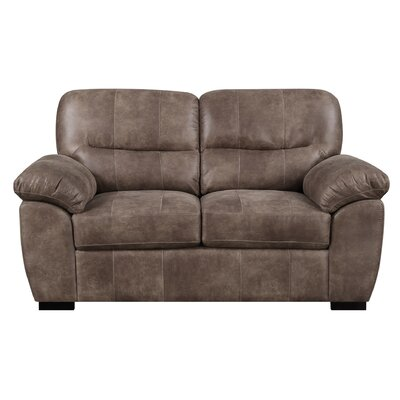 Clapham Standard Loveseat Upholstery: Almond Brown