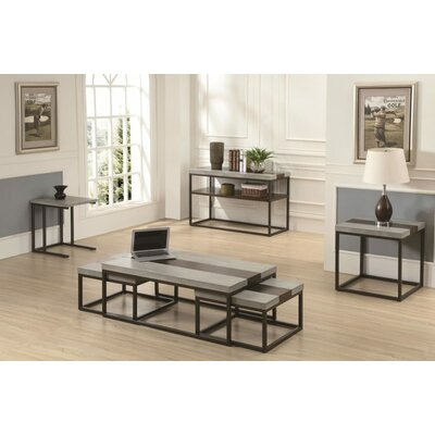Cleavenger 3 Piece Coffee Table Set