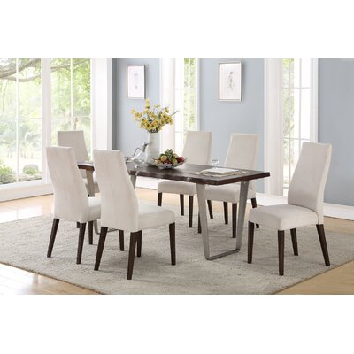 Anstett 7 Piece Dining Set