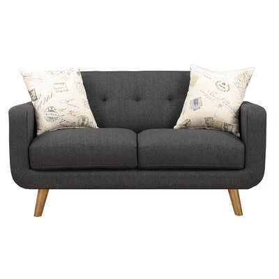 Gaven Loveseat Finish: Gray