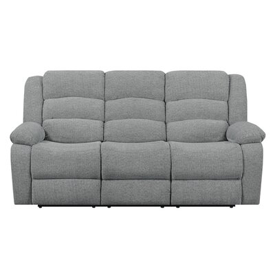 Wyche Motion Sofa Upholstery: Gray