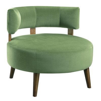 Deluna Barrel Chair Upholstery : Grass