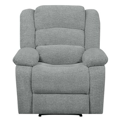 Wyche Manual Recliner Upholstery : Beige