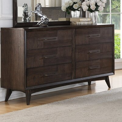 Diantha 6 Drawer Dresser