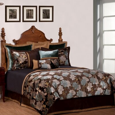 Phoenix Home Fashion Rainforest 9 PC Comforter Set - Size: Queen at Sears.com