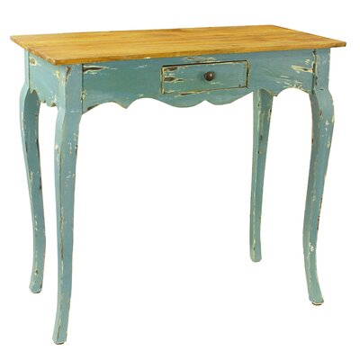 Maryanna Console Table Color: Blue