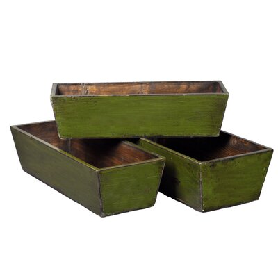 Pine Planter Box Set