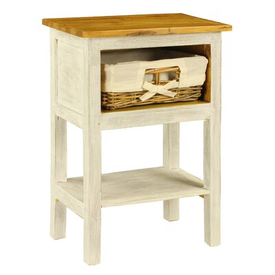 Bella 1 Drawer Nightstand