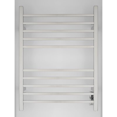 Radiant Wall Mount Electric Towel Warmer Finish: Polished