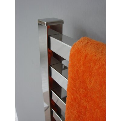 Quadro Wall Mount Electric Dual Purpose Radiator Finish: Polished