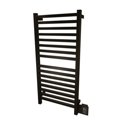 Quadro Wall Mount Electric Towel Warmer Finish: Oil Rubbed Bronze