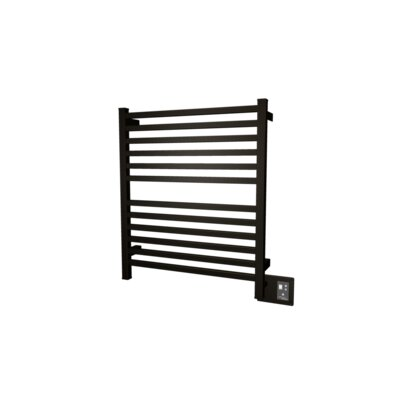 Quadro Wall Mount Electric Dual Purpose Radiator Finish: Oil Rubbed Bronze