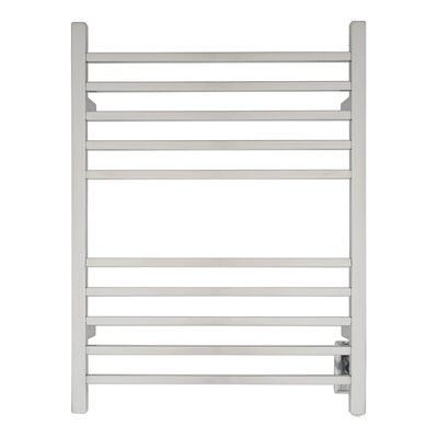 Radiant Wall Mount Hardwired Electric Towel Warmer Finish: Polished