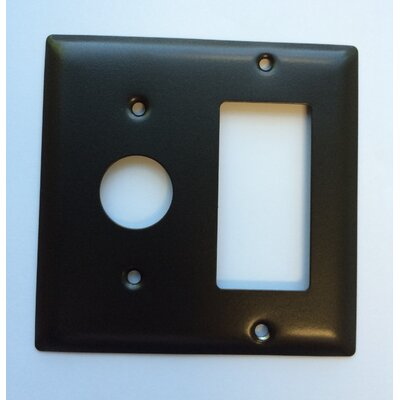 Jeeves Double Gang Plate Finish: Oil Rubbed Bronze