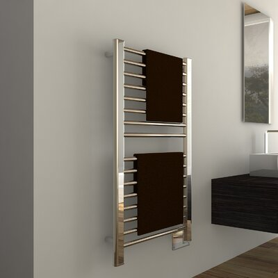 Sirio Wall Mount Electric Towel Warmer Finish: Polished