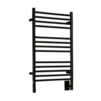 Jeeves Wall Mount Electric C Straight Towel Warmer Finish: Oil Rubbed Bronze
