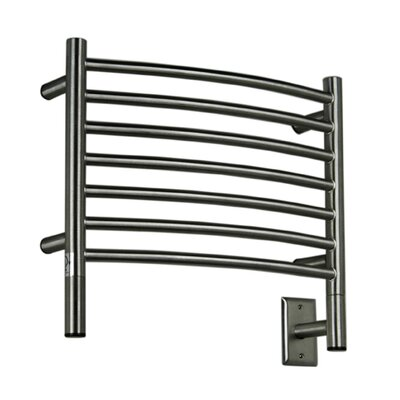 Jeeves Wall Mount Electric H Curved Towel Warmer Finish: Brushed