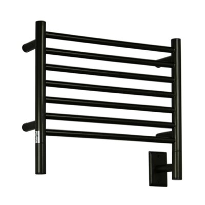 Jeeves Wall Mount Electric H Straight Towel Warmer Finish: Oil Rubbed Bronze