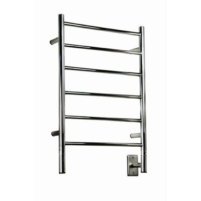 Jeeves Wall Mount Electric J Straight Towel Warmer Finish: Polished