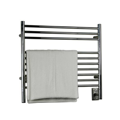 Jeeves Wall Mount Electric K Straight Towel Warmer Finish: Brushed