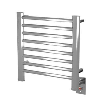 Sirio Wall Mount Electric Dual Purpose Radiator Finish: Brushed