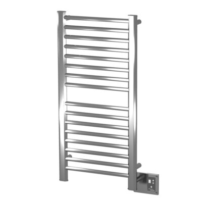 Sirio Wall Mount Electric Towel Warmer Finish: Brushed