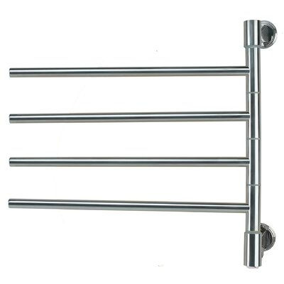 Swivel Wall Mount Electric Hinge Unit Size: 21 H x 22 W x 3.9 D, Finish: Polished Nickel