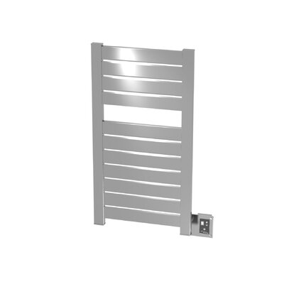 Vega Wall Mount Electric Dual Purpose Radiator Finish: Brushed