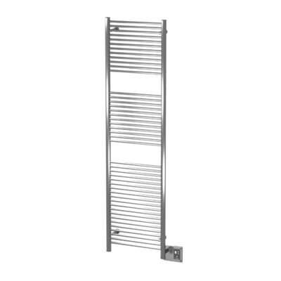 Antus Wall Mount Electric Towel Warmer Finish: Brushed