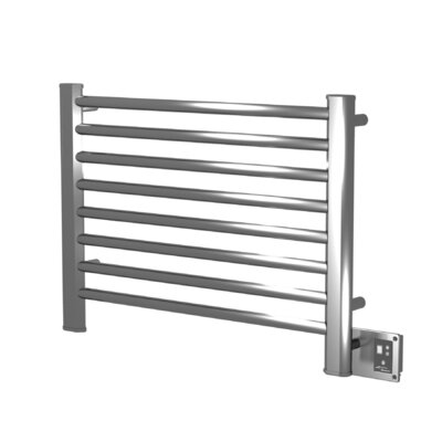 Sirio Wall Mount Electric Dual Purpose Radiator Finish: Polished