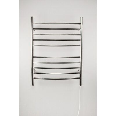 Wall Mount Electric Radiator finish: Brushed