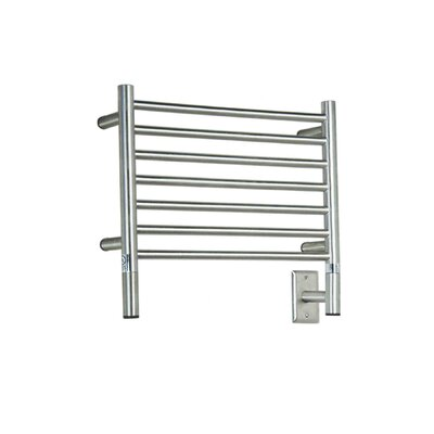 Jeeves Wall Mount Electric H Straight Towel Warmer Finish: Brushed