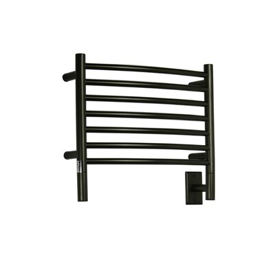 Jeeves Wall Mount Electric H Curved Towel Warmer Finish: Oil Rubbed Bronze