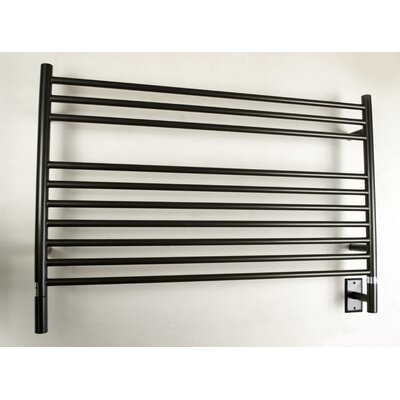 Jeeves Wall Mount Electric L Straight Towel Warmer Finish: Oil Rubbed Bronze