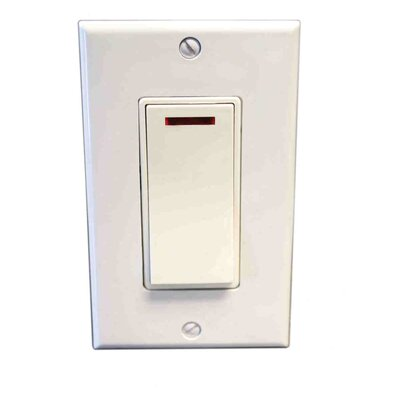 Pilot Light Switch Finish: White