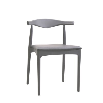 Bucky Side Chair Finish: Gray, Upholstery: Gray