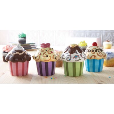 Confections Set Of 4 Cupcake Servers