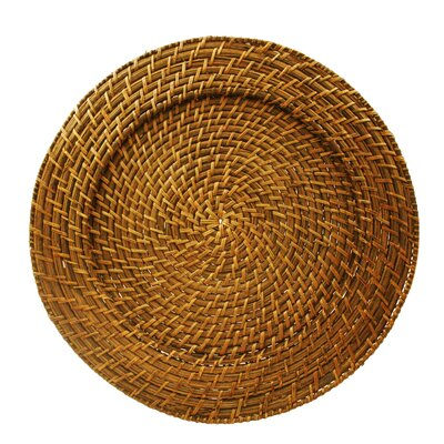 Harvest Rattan Charger