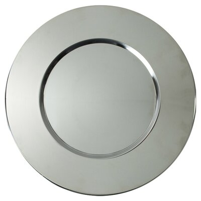 Sterling Stainless Steel Charger Plate